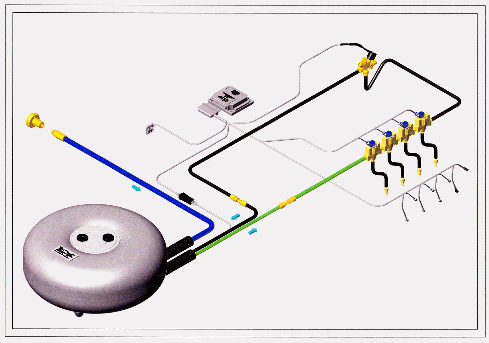 Как установить гбо 3 поколения на инжектор своими руками